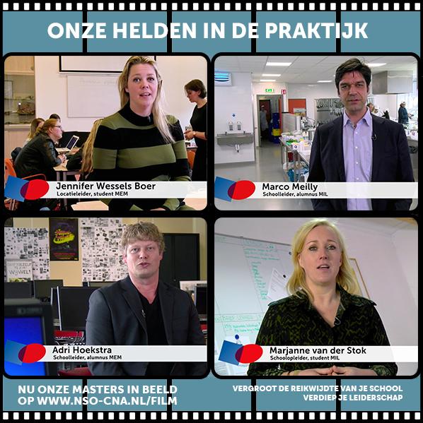 Masters in de praktijk- Filmposter NSO-CNA